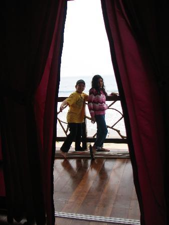 Abad Lounge Hotel: Yo y mi hermano