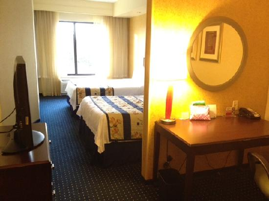 SpringHill Suites Dallas DFW Airport North/Grapevine: The room