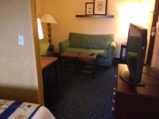 SpringHill Suites Dallas DFW Airport North/Grapevine: Sitting area