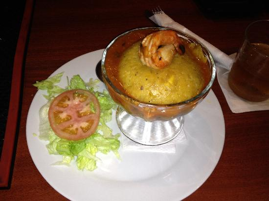 Dieguito And Markitos: Mofongo and Shrimp