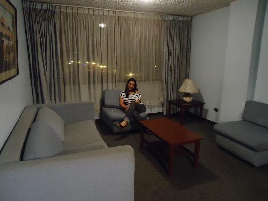 Apart Hotel Amaranta: sala