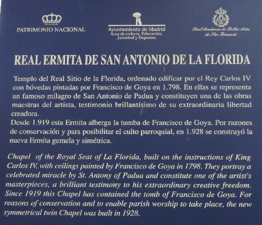 Parroquias de San Antonio de la Florida y San Pio X : Hermitage of San Antonio de la Florida (Ermita de San Antonio)