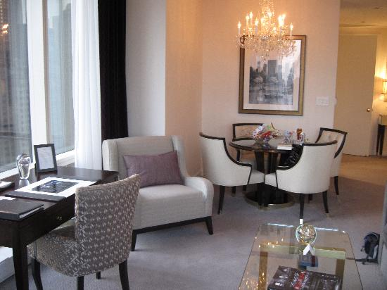 Trump International Hotel And Tower New York Living Room A