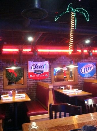 Oasis Southwest Grill of Franklin: bar table seating available