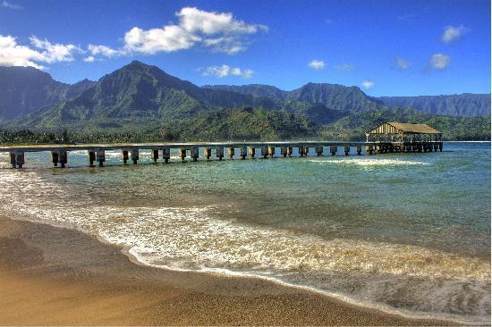 ฮานาเลย์, ฮาวาย: Hanalei Beach