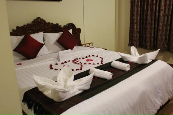 Siem Reap Niche Hotel: honeymoon arrival