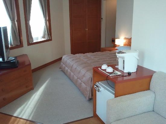 Hotel Clio Court Hakata: 무료 업그레이드 해 준 방.