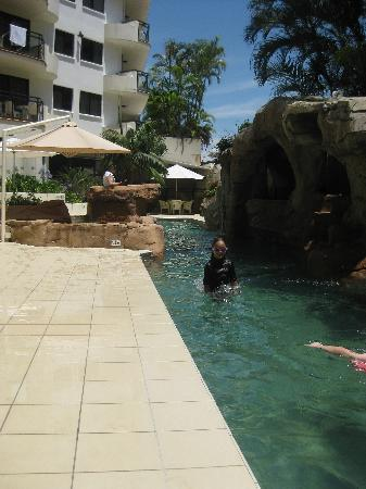 Caribbean Resort Mooloolaba: Cave Pool