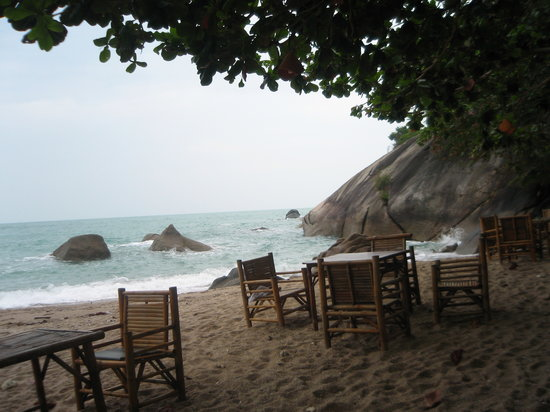 The Sanctuary Thailand : Breakfast on the beach
