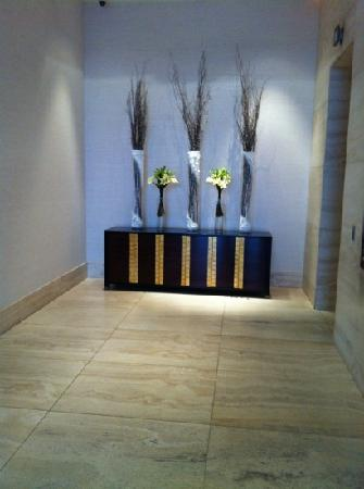 Hotel Arista at CityGate Centre: Lobby Elevator Area