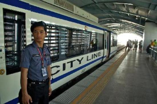 ARL City Line train