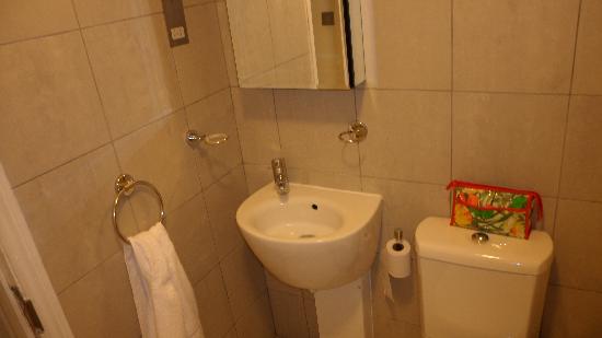 โรงแรมโซ เซียนนา: Bagno