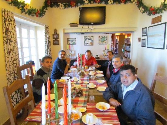 La Villa Bethany: The Dining area