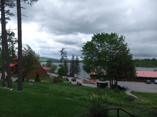 Calabogie Lodge Resort: View from balcony