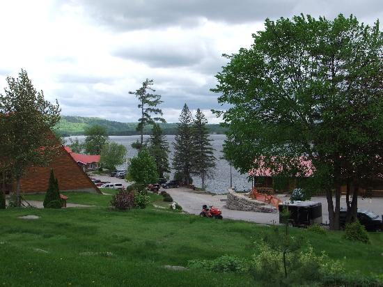 Calabogie Lodge Resort: 2nd View from  balcony
