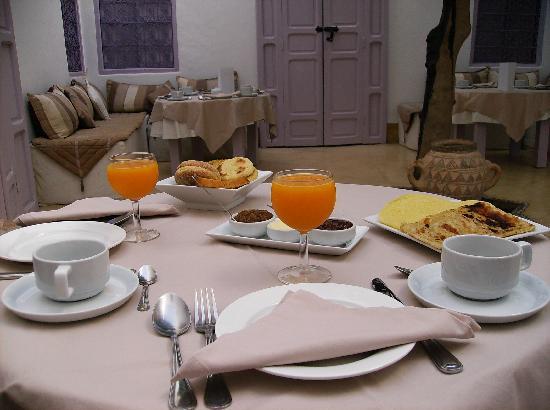 Dar Soukaina: La colazione