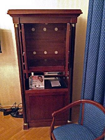 Hotel Ambassador: Empty TV Cabinet