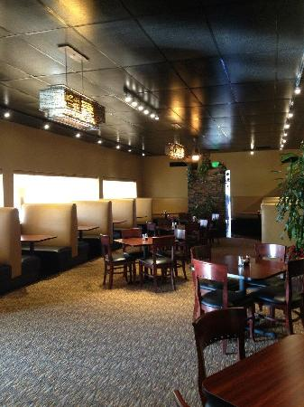 The Northern Pines Restaurant: The Dining Area