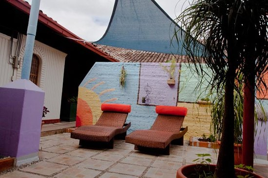 Hostal El Momento: Sun Lounge
