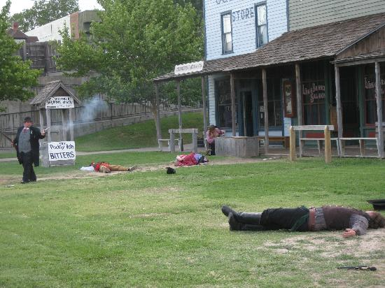 Shoot Out Boot Hill Museum Dodge City Ks Picture Of