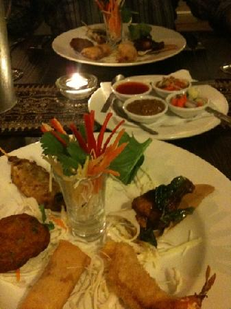 My Thai Restaurant: starer from Christmas menu