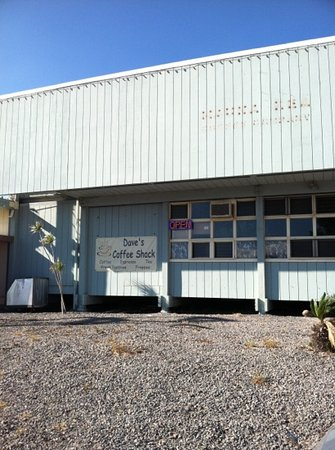 Dave's Plate and Coffee Shack: not much to look at from the outside. the greatness is on the inside
