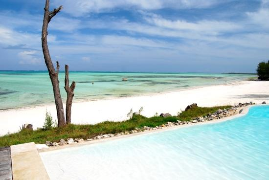 Pongwe Beach Hotel: Pongwe pool and beach
