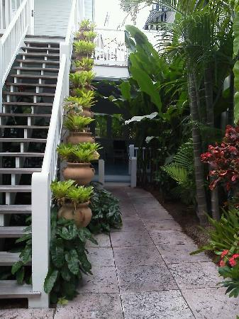 Marquesa Hotel: The entrance to the Honeymoon Suite