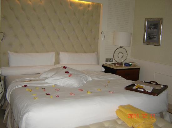 Iberostar Grand Hotel Bavaro: Préparation pour la nuit