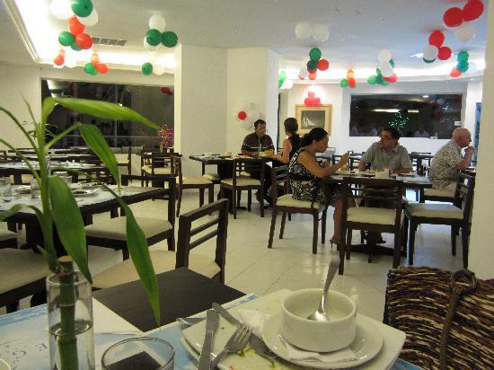 Hotel Regatta Cartagena: Restaurante