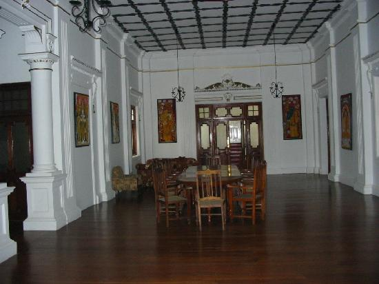 The Mansion: One of the entertaining areas
