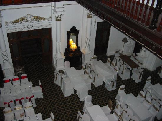 The Mansion: The ballroom