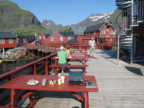 A i Lofoten, Norwegia: Lovely Spot, Shame about the Rooms