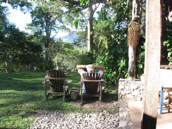 Hacienda San Lucas: Der Garten