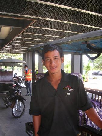 Siem Reap Niche Hotel: ドライバーのMara君