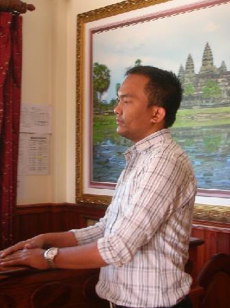 Siem Reap Niche Hotel: 親切で有能なマネージャー