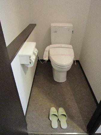 Art Hotel Nagahama: トイレ