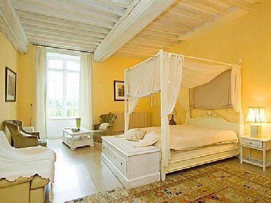 chambre Blanche hermine - Photo de Chateau du Bois Glaume ...