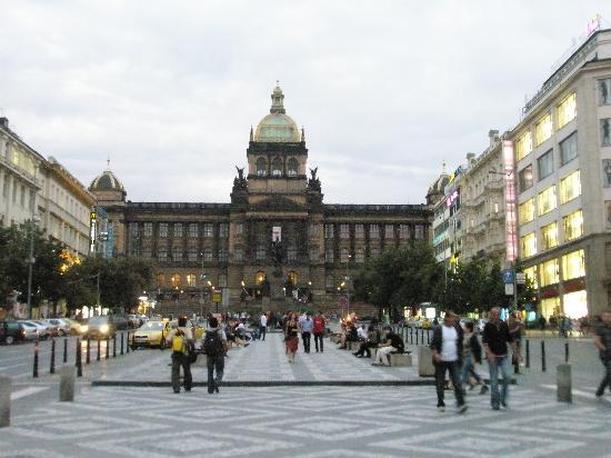 Praga, República Checa: Glavna ulica