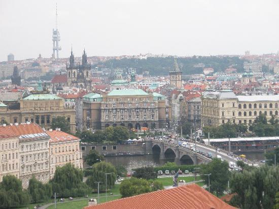 Praga, República Checa: Pogled sa brda