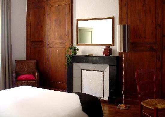 L'Hostalet: Grande chambre double