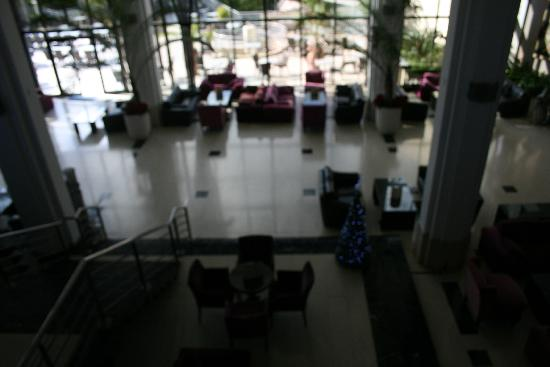 Hotel St. George: Lower lounge