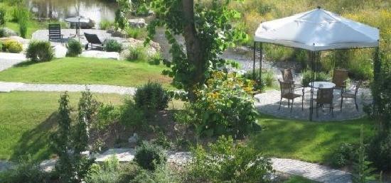 Inntalhof: Garten