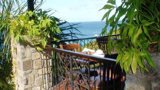 Firefly Hotel Mustique: Restaurant