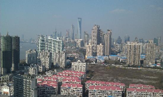 โรงแรมเชอราตันเซี่ยงไฮ้ & เรสซิเดนซ์ ผู่ตง: A view from 29th floor