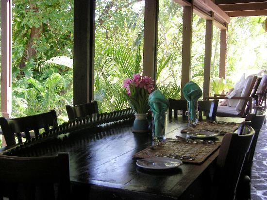 Firefly Bequia Plantation Hotel: Restaurant