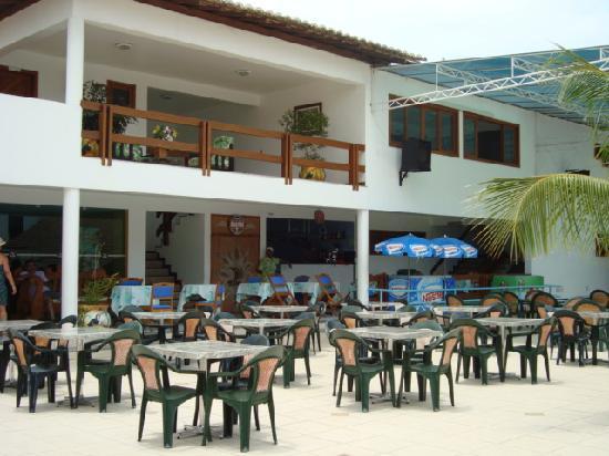 Brisa da Praia Hotel: o bar da piscina e perfeito