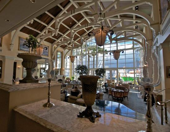 The Table Bay Hotel : sala da the e coffe break