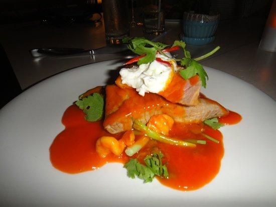 Rock Fish: thon aux epices et noix coco