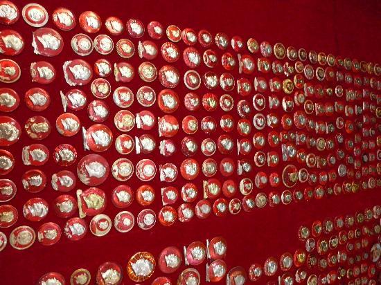 Jinshitan Mao Zedong Badges Exhibition: バッジの種類がほんとに多い!